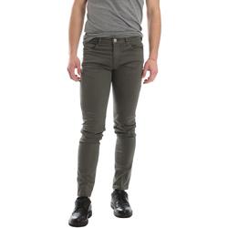 Abbigliamento Uomo Pantaloni 5 tasche Sei3sei 02696 Verde