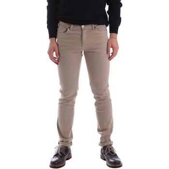 Abbigliamento Uomo Pantaloni 5 tasche Sei3sei 02696 Beige