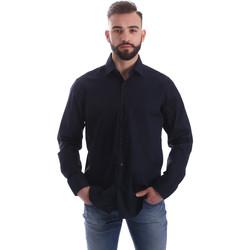 Abbigliamento Uomo Camicie maniche lunghe Gmf 962250/01 Blu