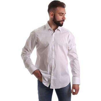 Abbigliamento Uomo Camicie maniche lunghe Gmf 962250/03 Bianco
