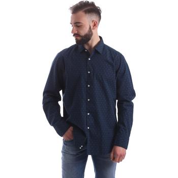 Abbigliamento Uomo Camicie maniche lunghe Gmf 962157/06 Blu