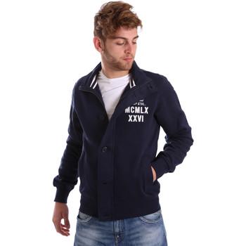 Abbigliamento Uomo Giubbotti Key Up FGS7 0001 Blu