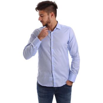 Abbigliamento Uomo Camicie maniche lunghe Gmf 962103/03 Blu