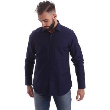 Abbigliamento Uomo Camicie maniche lunghe Gmf 962103/05 Blu