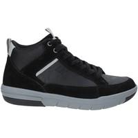 Scarpe Uomo Sneakers alte Lumberjack SM51505 002 V12 Nero