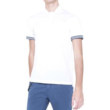 Abbigliamento Uomo Polo maniche corte Antony Morato MMKS00999 FA100083 Bianco