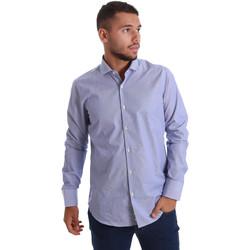 Abbigliamento Uomo Camicie maniche lunghe Gmf 971263/01 Blu