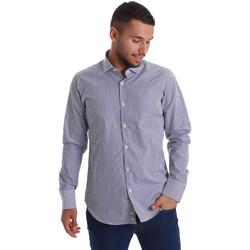 Abbigliamento Uomo Camicie maniche lunghe Gmf 971264/03 Blu