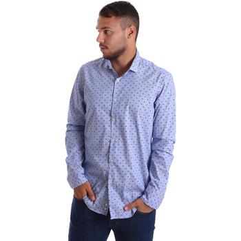 Abbigliamento Uomo Camicie maniche lunghe Gmf 971200/04 Blu