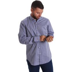 Abbigliamento Uomo Camicie maniche lunghe Gmf 971134/05 Blu