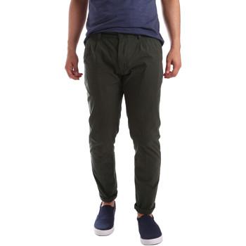 Abbigliamento Uomo Chino Ransom & Co. EDDIE P174 Verde