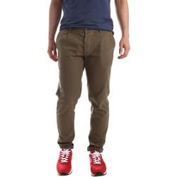 Abbigliamento Uomo Chino Ransom & Co. EDDIE P164 Verde