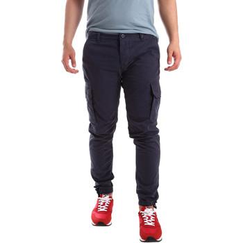 Abbigliamento Uomo Pantalone Cargo Ransom & Co. PAUL P138 Blu