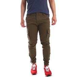 Abbigliamento Uomo Pantalone Cargo Ransom & Co. PAUL P138 Verde