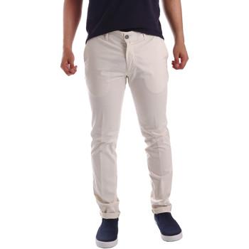 Abbigliamento Uomo Chino Sei3sei PZV21 7148 Bianco