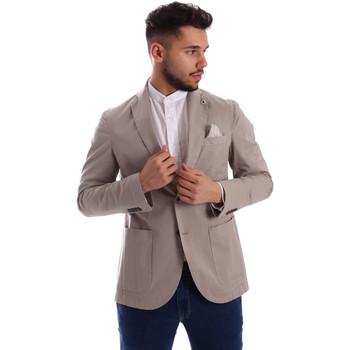 Abbigliamento Uomo Giacche / Blazer Sei3sei PZG8 7149 Grigio