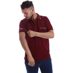 Abbigliamento Uomo Polo maniche corte Key Up 2827Q 0001 Rosso