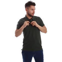 Abbigliamento Uomo Polo maniche corte Key Up 255QG 0001 Verde