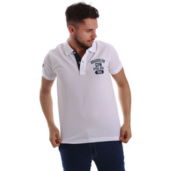 Abbigliamento Uomo Polo maniche corte Key Up 255QG 0001 Bianco