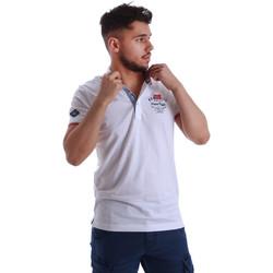 Abbigliamento Uomo Polo maniche corte Key Up 262RG 0001 Bianco