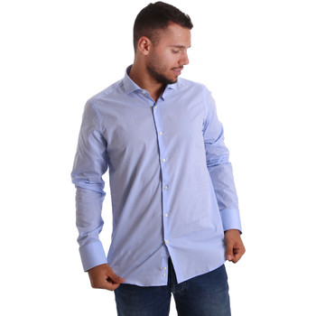 Abbigliamento Uomo Camicie maniche lunghe Gmf 971101/03 Blu
