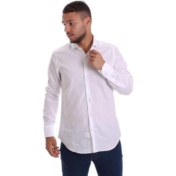 Abbigliamento Uomo Camicie maniche lunghe Gmf 971111/11 Bianco