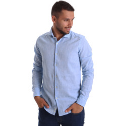 Abbigliamento Uomo Camicie maniche lunghe Gmf 971306/02 Blu