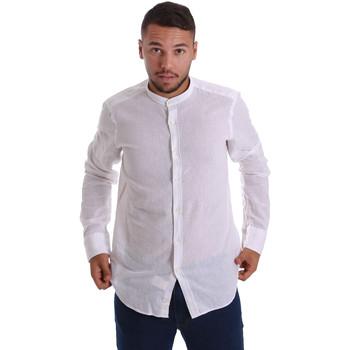Abbigliamento Uomo Camicie maniche lunghe Gmf 971306/01 Bianco