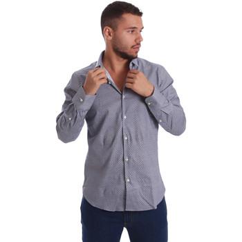 Abbigliamento Uomo Camicie maniche lunghe Gmf 971185/03 Nero