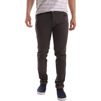 Abbigliamento Uomo Pantaloni 5 tasche Sei3sei PZV17 71339 Marrone