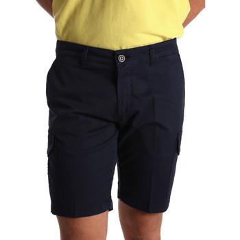 Abbigliamento Uomo Shorts / Bermuda Sei3sei PZV130 7148 Blu