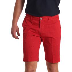Abbigliamento Uomo Shorts / Bermuda Sei3sei PZV132 71336 Rosso