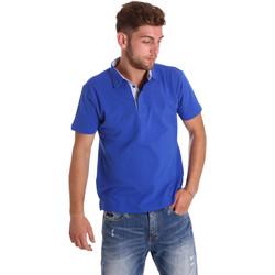 Abbigliamento Uomo Polo maniche corte Bradano 000116 Blu