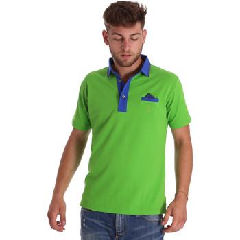 Abbigliamento Uomo Polo maniche corte Bradano 000114 Verde