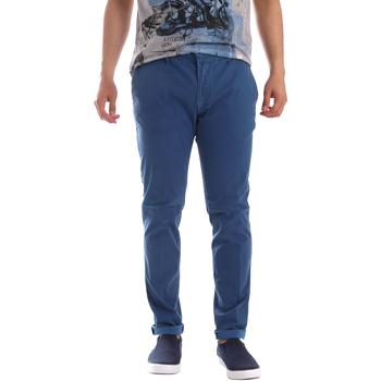 Abbigliamento Uomo Chino Sei3sei PZV156 71341 Blu