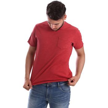 Abbigliamento Uomo T-shirt maniche corte Ransom & Co. T-06 Rosso