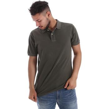 Abbigliamento Uomo Polo maniche corte Ransom & Co. PO-038 Verde