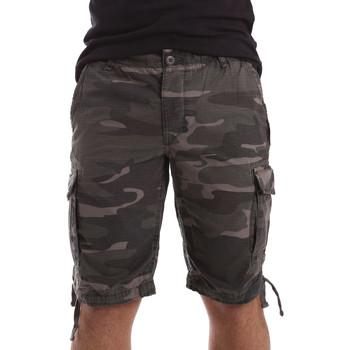 Abbigliamento Uomo Shorts / Bermuda Ransom & Co. INDIANA-P142 Grigio