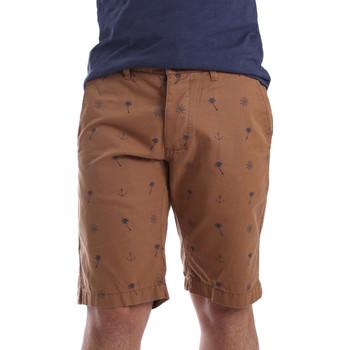 Abbigliamento Uomo Shorts / Bermuda Ransom & Co. BRAD-P150 Marrone