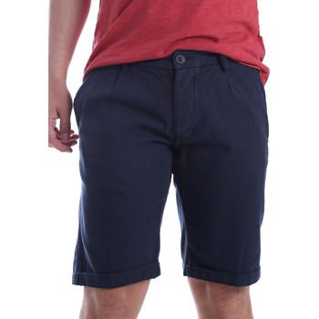 Abbigliamento Uomo Shorts / Bermuda Ransom & Co. GEORGE-P163 Blu