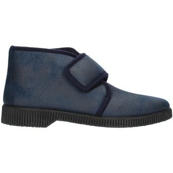 Scarpe Uomo Pantofole Clia Walk HOME126 Blu