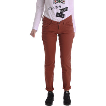 Abbigliamento Donna Pantaloni 5 tasche Fornarina BIR1G41G28050 Marrone