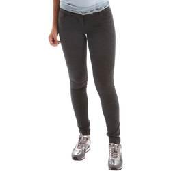 Abbigliamento Donna Pantaloni 5 tasche Animagemella 17AI108 Grigio