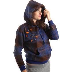 Abbigliamento Donna Felpe Y Not? Y17AI074 Blu