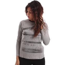 Abbigliamento Donna Maglioni Key Up SGV9 0001 Grigio