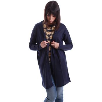 Abbigliamento Donna Gilet / Cardigan Gazel AB.MA.CA.0055 Blu