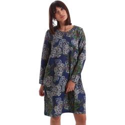Abbigliamento Donna Abiti corti Gazel AB.AB.ML.0026 Blu