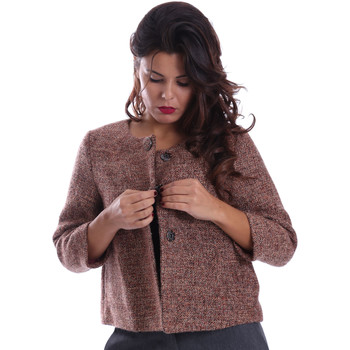 Abbigliamento Donna Cappotti Gazel AB.CS.GI.0043 Rosa