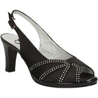 Scarpe Donna Sandali Grace Shoes E7793 Nero
