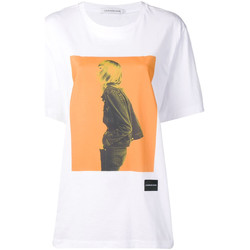 Abbigliamento Donna T-shirt maniche corte Calvin Klein Jeans J20J208491 Bianco